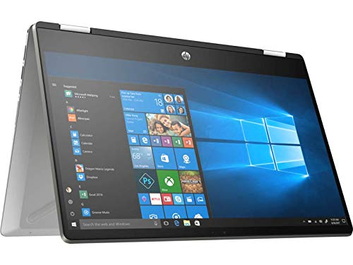 "Foto HP-PC Pavilion x360 14-dh0037nl, Notebook Convertibile, Intel Core i5-8265U, 8 GB di RAM, SSD da 256 GB, Display 14"" Touchscreen FHD IPS, Argento Minerale"