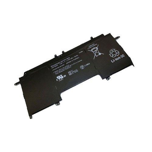 amsahr BPS41-02 Ersatz Batterie für Sony VGP-BPS41, SVF13N27PG, SVF13N25CG, SVF13N18SCB, VAIO Fit 13A schwarz (Vaio Zubehör Sony Fit 13a)