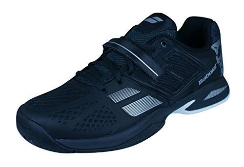 Babolat SMU Propulse All Court Skulls Zapatos Tenis para niños Zapatos Tenis para niños-Black-38.5