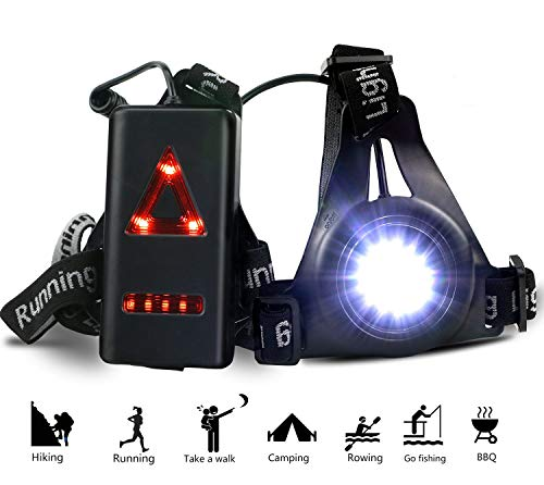 41JdKMJBVCL - ATNKE LED Chest Torch, Bright & Waterproof with 3 Lighting Modes