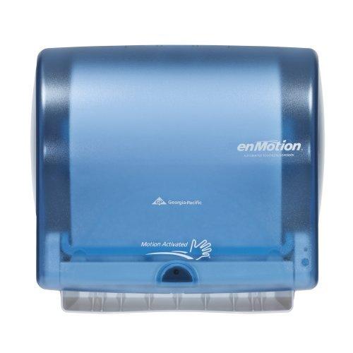 georgia-pacific-enmotion-59487-impulse-10-automated-touchless-paper-towel-dispenser-splash-blue