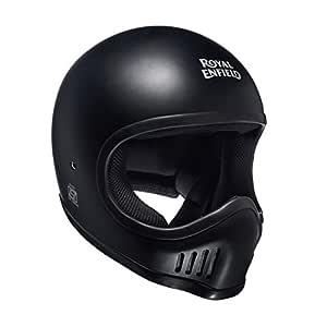 Royal Enfield Matt Black Full Face Helmet Size (XL)62 CM (RRGHEH000060)