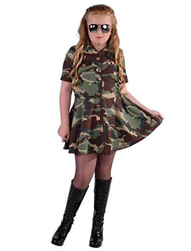 MAGIC BY FREDDYS Kleid Army Girl Kinder - Army Girl Kostüm Kinder
