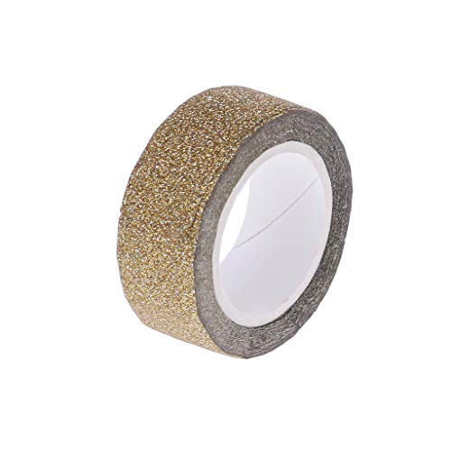 Glitter Washi Tape Scrapbooking Decorative Adhesive Tapes DIY Color Masking Tape School Supplies -