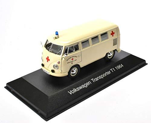 IXO / ATLAS VW Transporter T1 Krankenwagen Krankenwagen Die-Cast Fertigmodell Maßstab 1:43