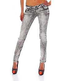 CIPO & BAXX - CBW-46006 - tubo para mujer pantalones vaqueros