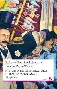 Historia de la literatura hispanoamericana II (VARIOS GREDOS)