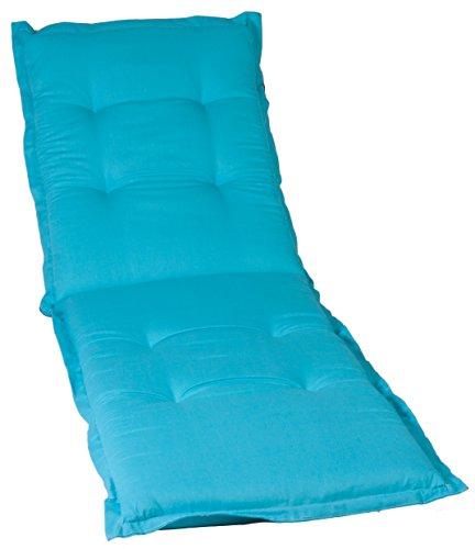 beo AU22 Napoli LI Luxus-Saumauflage für Liegen hochwertiger Bezug mit hoher Lichtechtheit, angenehmer Sitzkomfort, circa 195 x 62 cm, circa 7 cm dick