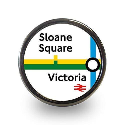 33b33ee8ee Pushka Home Sloane Square & Victoria station tubo mappa stop Line London  Underground Tfl pomelli in