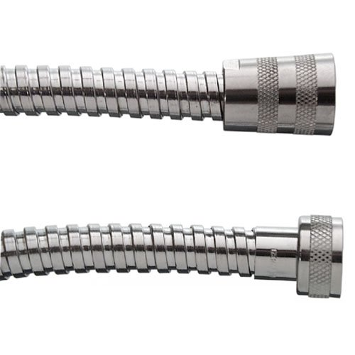 Cornat duschslang 0.80m stål, krom, TECBW3312