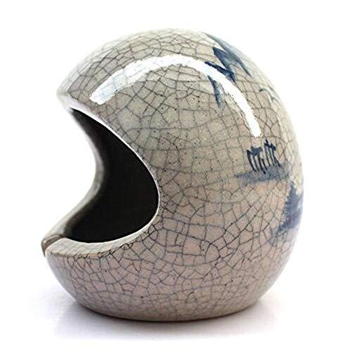 SHULING Aschenbecher  Hand-Painted Keramik Aschenbecher, Brennöfen, Geeignet für Wohnzimmer Bar Haushaltsgegenstände