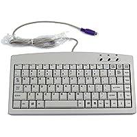 E-SDS 88Tastiera industriale alta qualità, Slim x architettura con interfaccia PS2 White