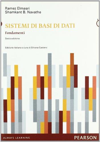 Sistemi di basi di dati. Fondamenti