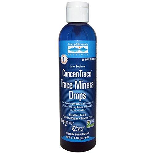 Liqumins ConcenTrace mineralische Tropfen, niedrige Natrium-, 8-Unzen-Flasche