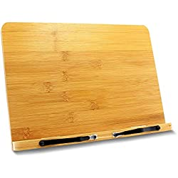 Ulable soporte para libro,soporte de libro para lectura, atril de lectura adecuado para tableta de teléfono iPad, portátiles Piano musical, regalo perfecto para lectores