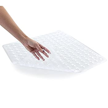 Slip-x Solutions Deluxe Square Shower Mat (Clear) 2