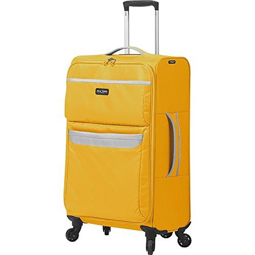 mia-toro-bernina-softside-24-inch-spinner-luggage-yellow