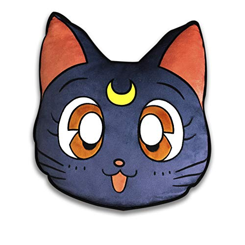 ABYstyle - Sailor Moon - Plüsch Kissen - Luna (35 x 33 cm)
