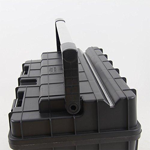 Kunststoff Werkzeugkoffer Formula HD BOX Trophy 1 Plus, 80x35cm Kasten Werzeugkiste Sortimentskasten Werkzeugkasten Anglerkoffer - 5