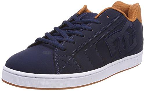 DC Shoes ADYS700071, Zapatilla Hombre, Rojo (Burnt Henna/White), 42 EU