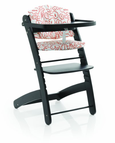 Cosatto Pretzel Highchair - Word Zoo Cocoa