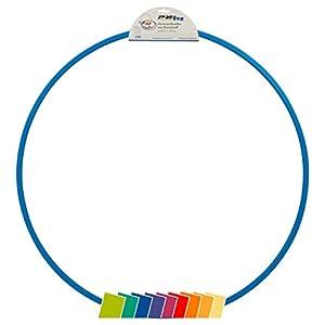 Sport-Tec Gymnastikreifen aus Kunststoff, Hula Hoop, Trainingsreifen, Turnreifen, 80 cm, 400g