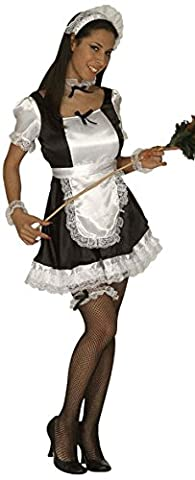 Ladies French Maid Dominique Costume Extra Large UK 18-20 for Sexy Lingerie Fancy Dress