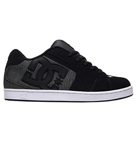 DC Shoes Uomo Net se Skateboard Scarpe - Resina Nera, 7 UK