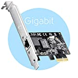 Cudy PE10 Carte Réseau PCI Express Gigabit Ethernet, 10/100/1000Mbps RJ45 PCIe...