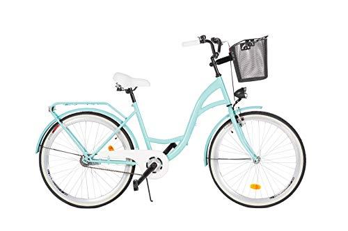 Milord. 2018 Cómoda Bicicleta de ciudad con una Canasta, Bicicleta, 1