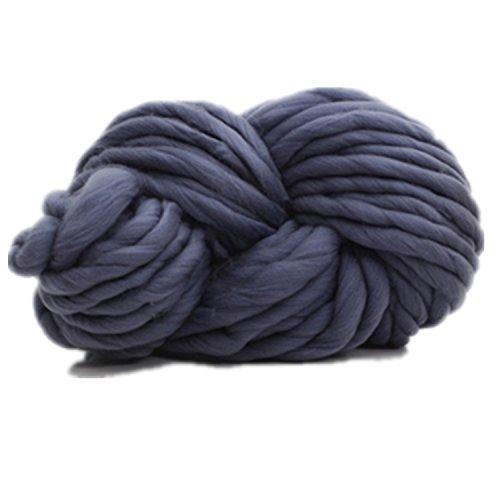 Celine lin Fil à tricoter très épais pour tricot et crochet à la main 250 g