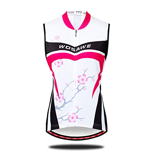 Sunbike Frauen Radfahren ärmellose Jersey Bike Shirts Weste -