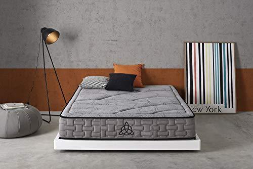 Living Sofa Simpur Relax COLCHÓN VISCO GRAFENO Grosor 25 cm 120X190 con...