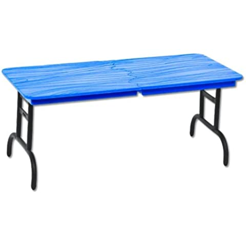 Wrestling Figure Accessories: Blue Breakaway Table (Great for 7 WWE & TNA action figures) by Wrestling Trader
