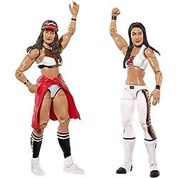 WWE Nikki Bella & Brie Bella Figura De Acción (2u.) - Paquetes De Batalla 43
