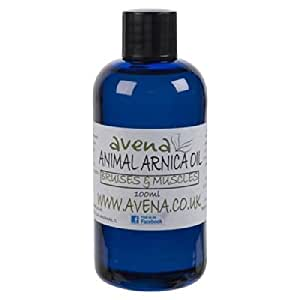 &naturel pour Chien Chat Animaux-Soin huile d'Arnica pour soulager les douleurs musculaires rigidité