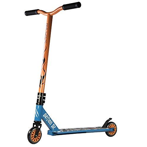 Bestial Wolf Demon D2 Scooter, Azul/Naranja, Talla Única