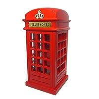 CUNQIKUN Oversized Wooden Piggy Bank Money Box Cute Coin Pots Children Birthday,Red
