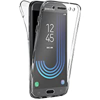 Coque Gel Samsung Galaxy J5 2017 , Buyus Coque 360 Degres Protection INTEGRAL Anti Choc , Etui Ultra Mince Transparent INVISIBLE pour Samsung Galaxy J5 Edition 2017 , Coque Galaxy J5 (2017) J530