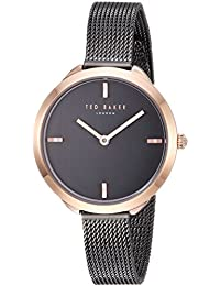 092779c7ddb Ted Baker Women s Analog Quartz Watch with Stainless-Steel Strap TE15198019