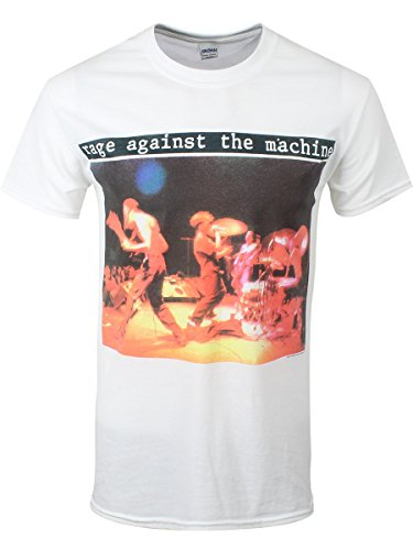 Rage Against The Machine Anger Is A Gift T-Shirt bianco M