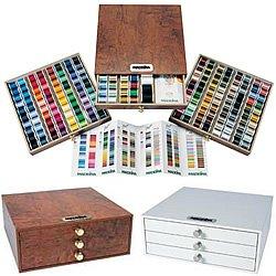 Madeira 8180H | Treasure Chest Machine Embroidery Thread 194 Spools, Needles