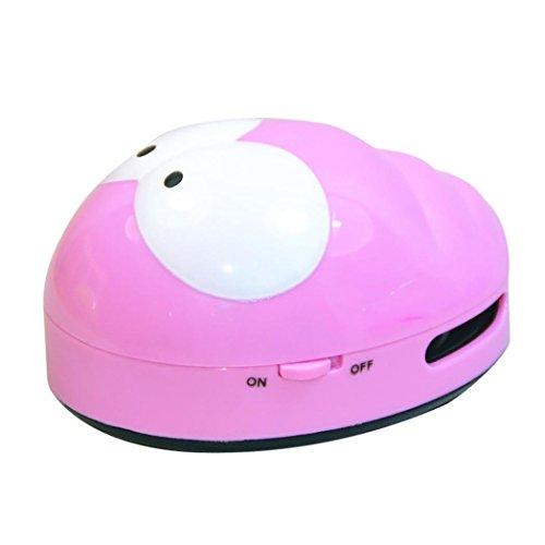 Kommerzielle Vakuum-tisch (dikewang niedlicher Mini-Caterpillar Eck-Schreibtisch Tisch Staub Vakuum Micro-Kehrmaschinen Reinigung, entfernen die Haare oder Staub auf der Oberfläche der Hausgeräte-, Computer-Tastatur oder Möbel)