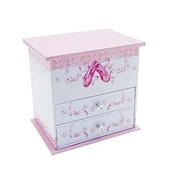 Mele co scatola portagioielli abigail con carillon - Carillon portagioie bambina ...