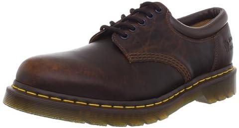 Dr. Martens 8053 5 Eye Padded Collar Boot,Tan Harvest,8 UK/Women's 10 Men's 9 M US