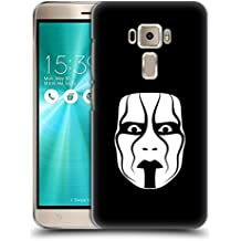 Ufficiale WWE The Mask Sting Cover Retro Rigida per Asus Zenfone 3 ZE520KL