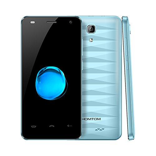 Smartphone Ohne Vertrag, HOMTOM HT26 4G Smartphone 4,5 Zoll Android 7.0, Quad-Core 1.3GHz 1GB RAM+8GB ROM, 8.0MP Kamera 2300mAh Batterie, Dual SIM Hadny