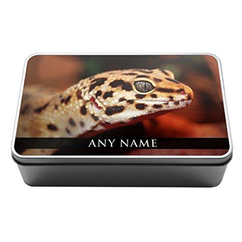 Personalizzato Leopard Gecko Animale Scatola Di Latta
