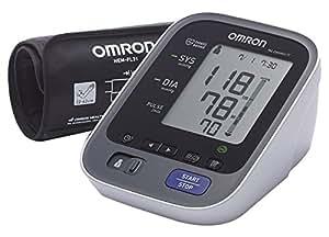 OMRON M6 Comfort IT- Misuratore automatico della pressione da braccio, Tecnologia Intelli Wrap Cuff Per Una Misurazione Precisa In Qualsiasi Punto Del Braccio, Bracciale 22-42 cm