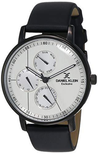 Daniel Klein Analog Silver Dial Men's Watch-DK12005-6